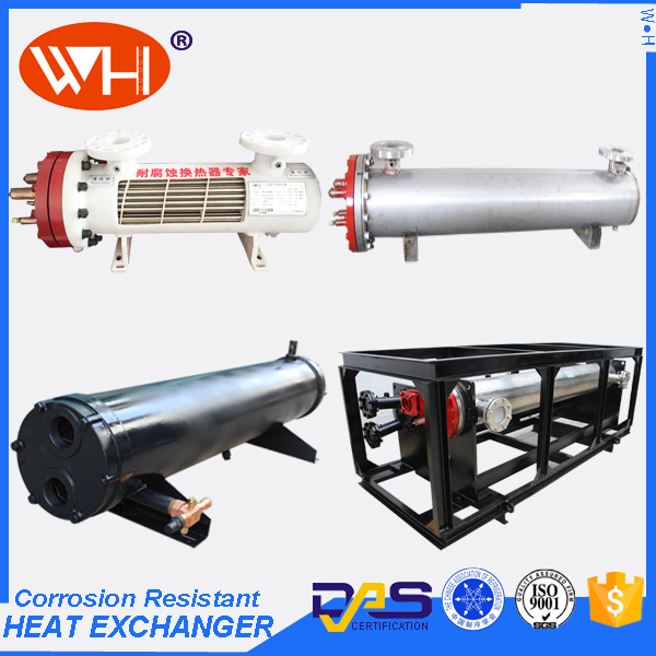 ISO Certification Tube & Shell Heat Exchanger Types of Heat Exchangers Titanium Tube Bends
