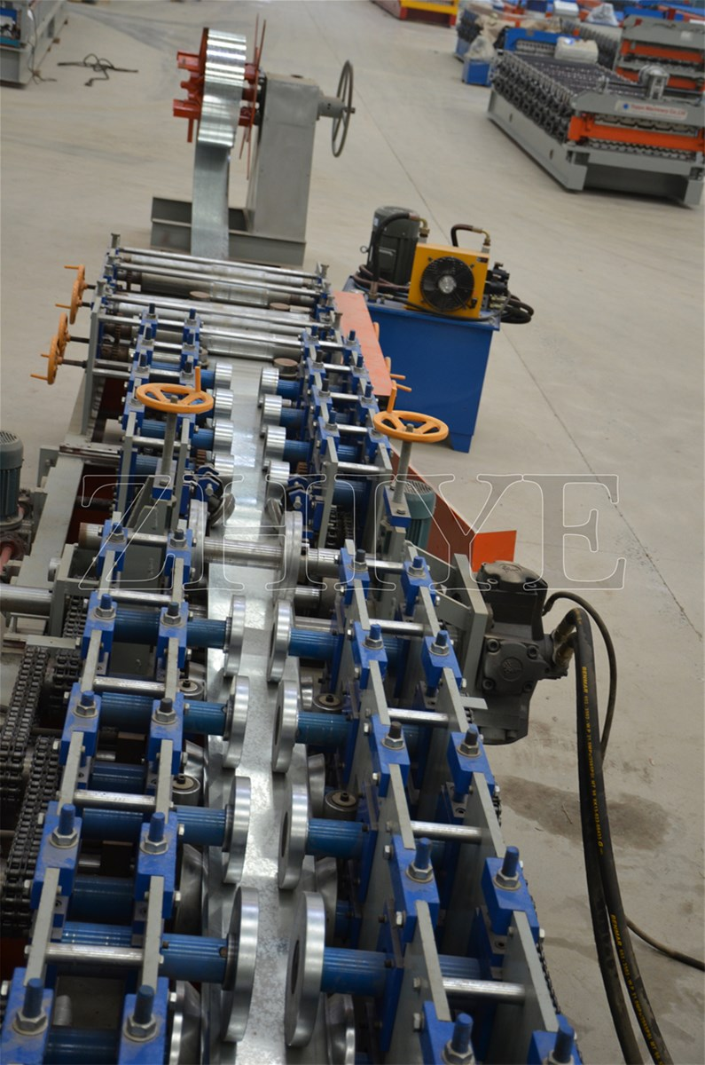C and Z Channel Cold Rolling Forming Machines