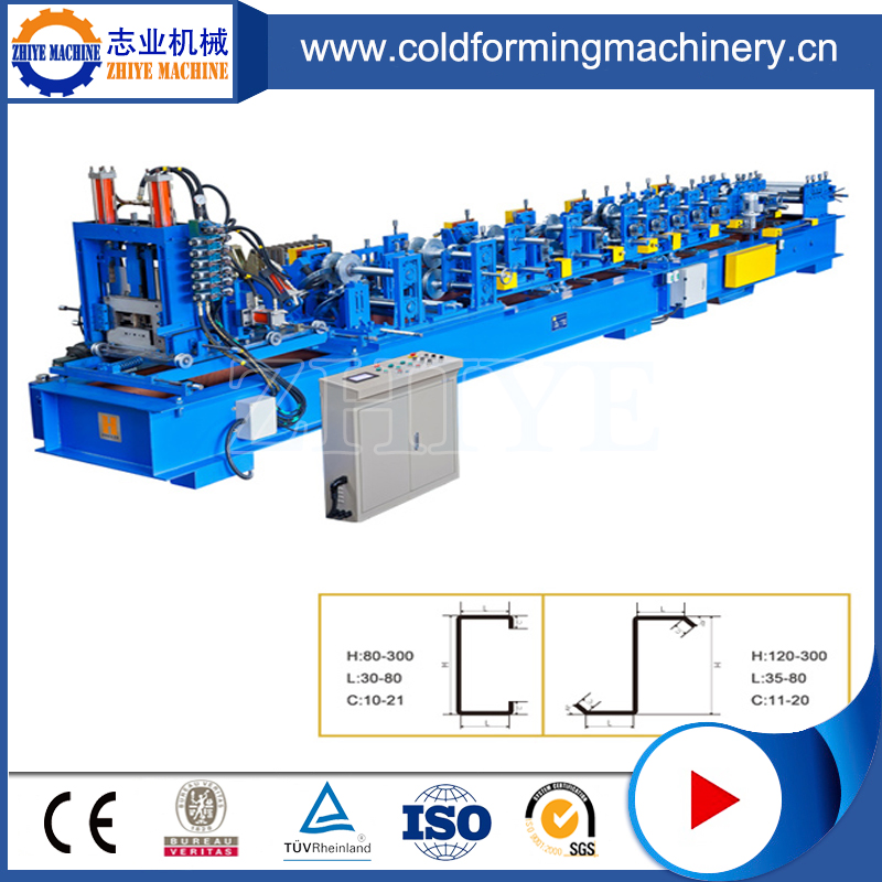 C & Z Channel Cold Rolling Forming Machines