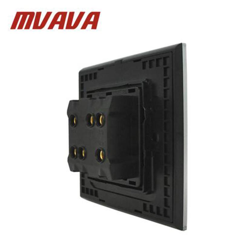 MVAVA Dual Voltage Wall Shaver Socket Bathroom Electrical Shaving ...