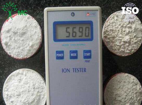 Negative ion powder anion powder