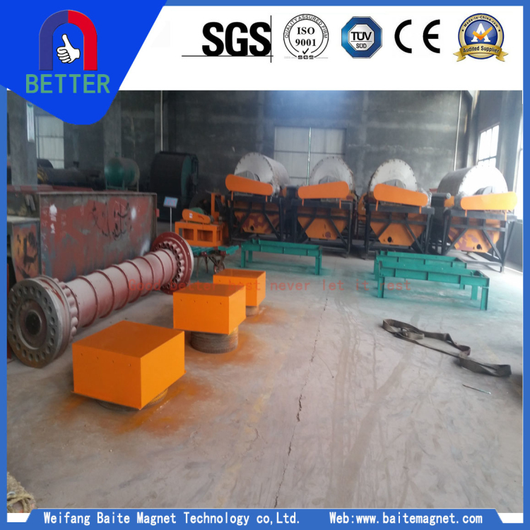 High Efficiency RCYB Series Suspension Magnetic Separator for Mining/Cement/Building Materials Industry for Sale
