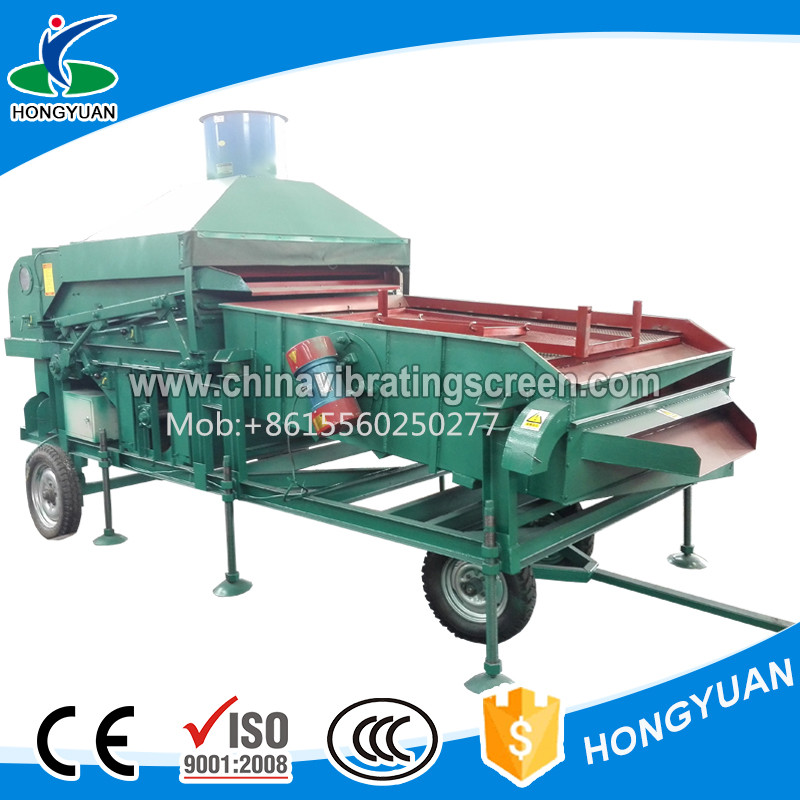Corn Wheat Cocoa Beans Cleaning Filtrating Machine