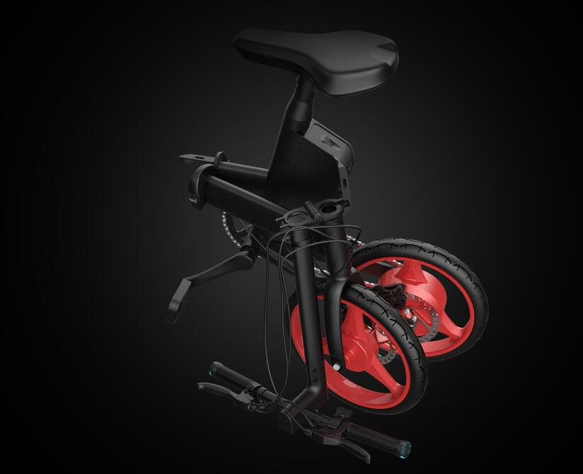 New ivelo Electric Folding Bike Small Electric Bicycle with pedal New Products Will Soon Be ListedElectric car