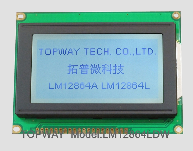 128X64 Graphic LCD Display COB Type LCD Module LM12864L