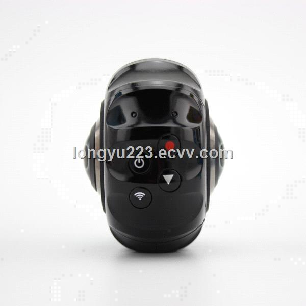Outdoor Wireless 720 Degree Panoramic Camera 3D VR Action Sports Camera WiFi 16MP HD 30FPS DVR Recorder
