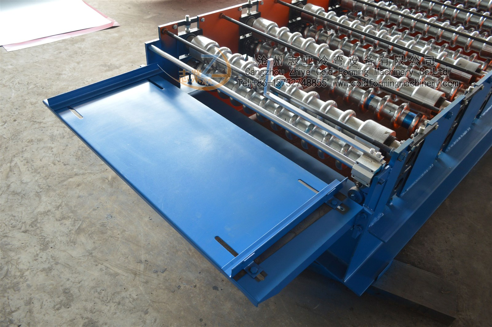 Steel Corrugated Sheet Profile Roll Forming Machine