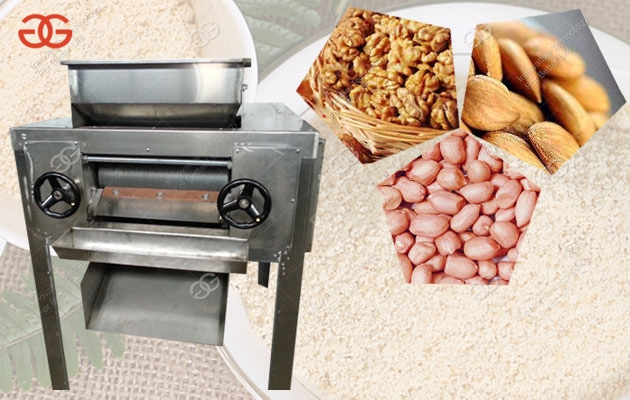 almond powder grinding machine