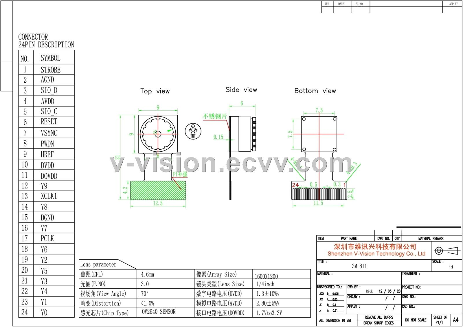 Manufacturing Professional Ov2640 Infrared Cmos Ip Camera Module Modular Surveillance Wire Diagram