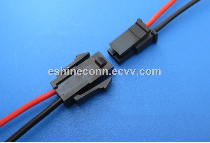 Electrical Wire Connector Terminal Assemble Micro fit housing connector to LED lamp strip