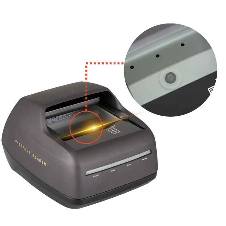 Passport & ID Scanner For Travel Document Reading From