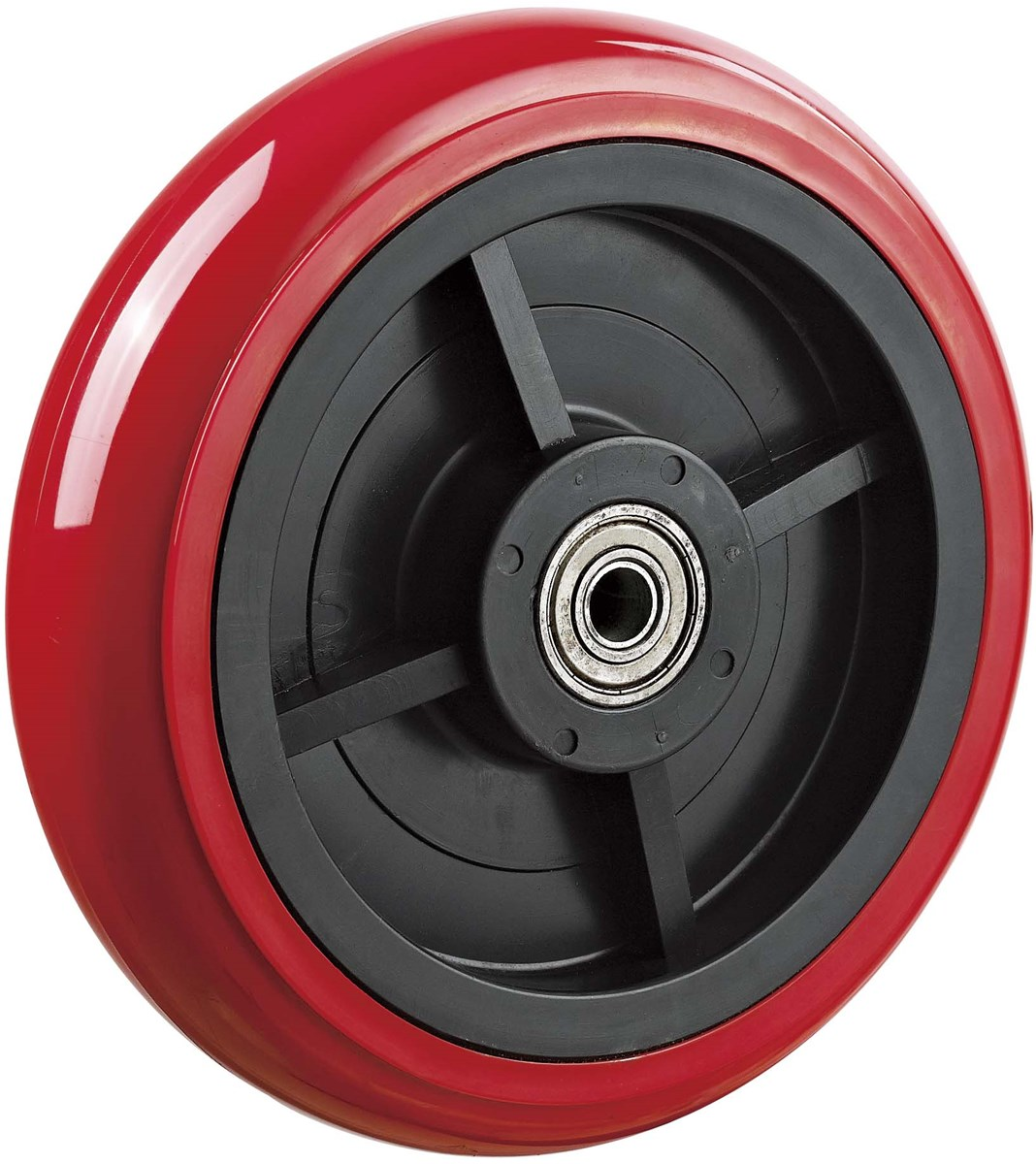 Hardware Tools Caster Wheel 5 Inches PU Plastic Single Wheels