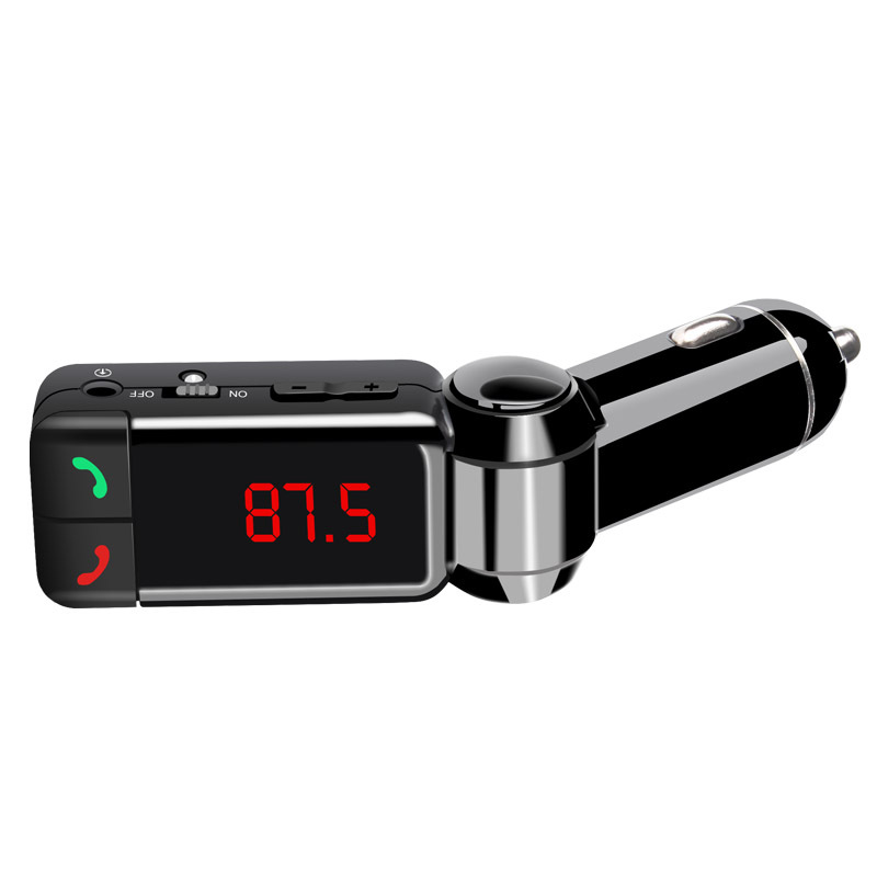 GXYKIT 2 USB Bluetooth Handsfree FM Transmitter BC06 Car Audio MP3 Player Car Charger