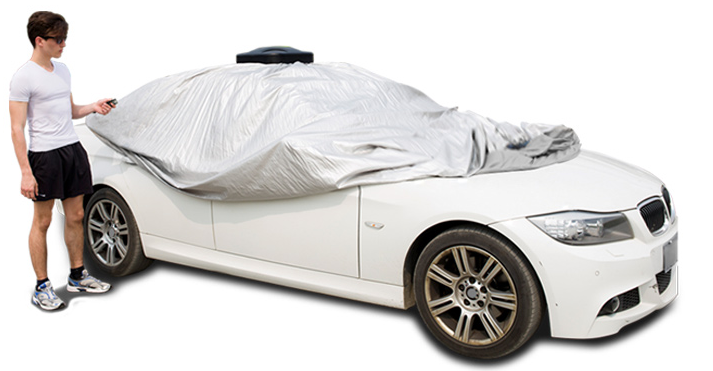 New Design Solar Powered Automatic Car Cover E200