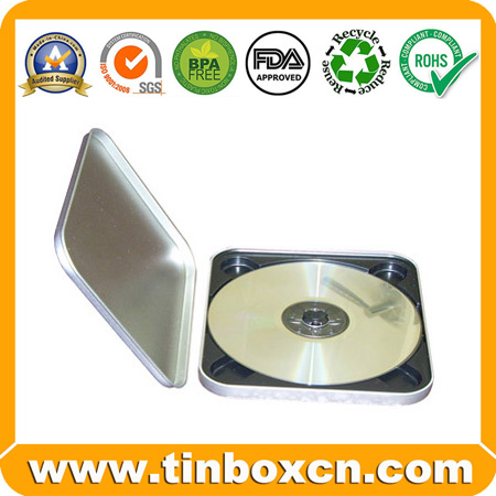 Tin CD Box Tin CD Case CD Box CD Tin Box Tin CD Bag Metal CD Packaging BR1154