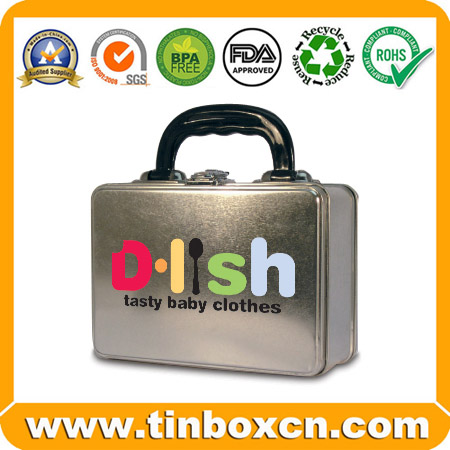 Handle Tin for Lunch Gift Packaging Box