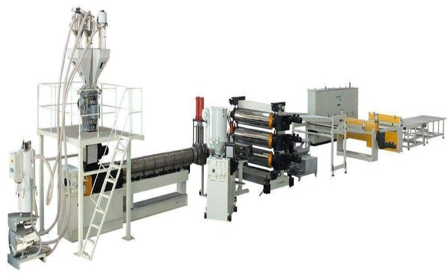 ABS/HIPS/PMMA/PVC Plate Production Line
