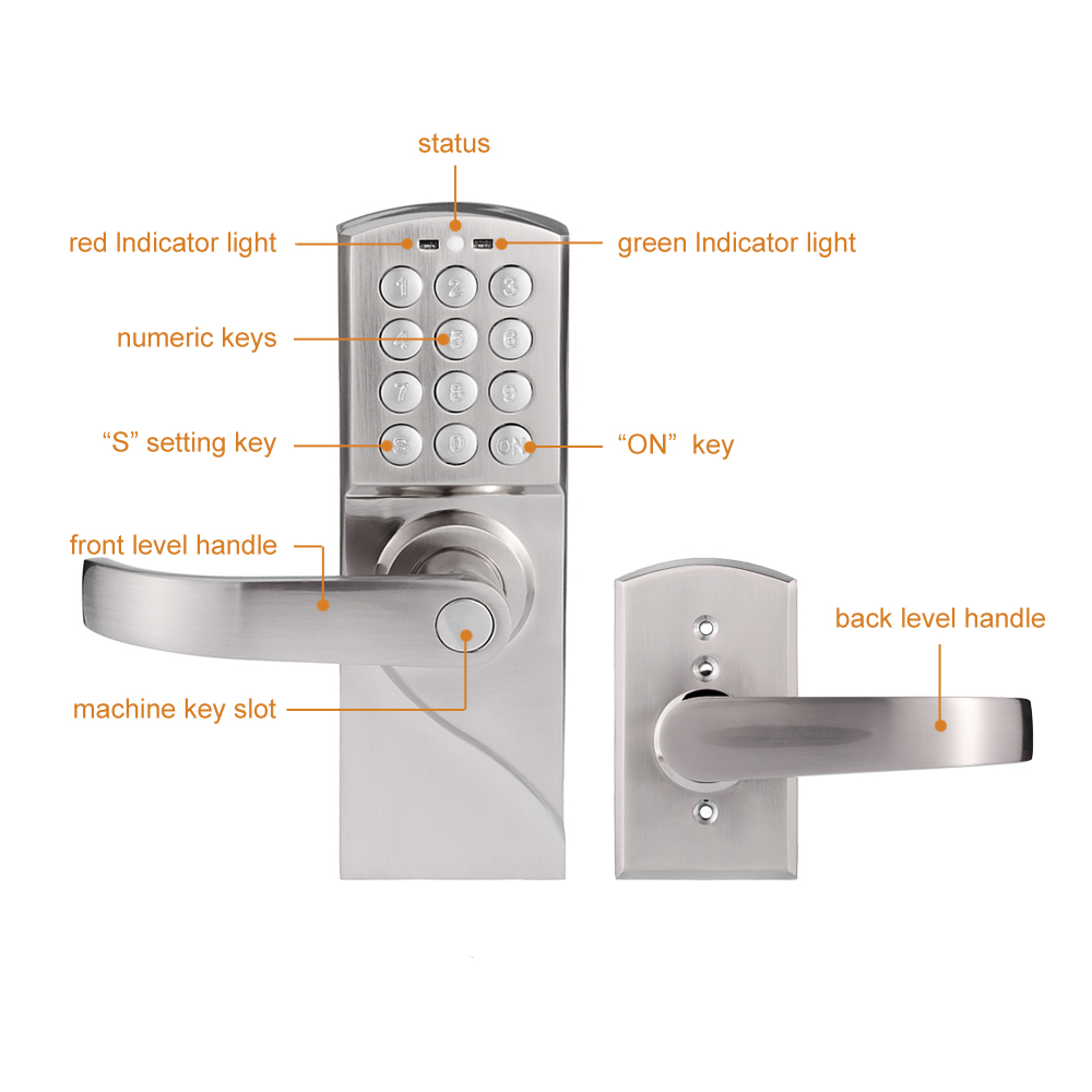 Standalone Smart Digital Door lock Security RDJ