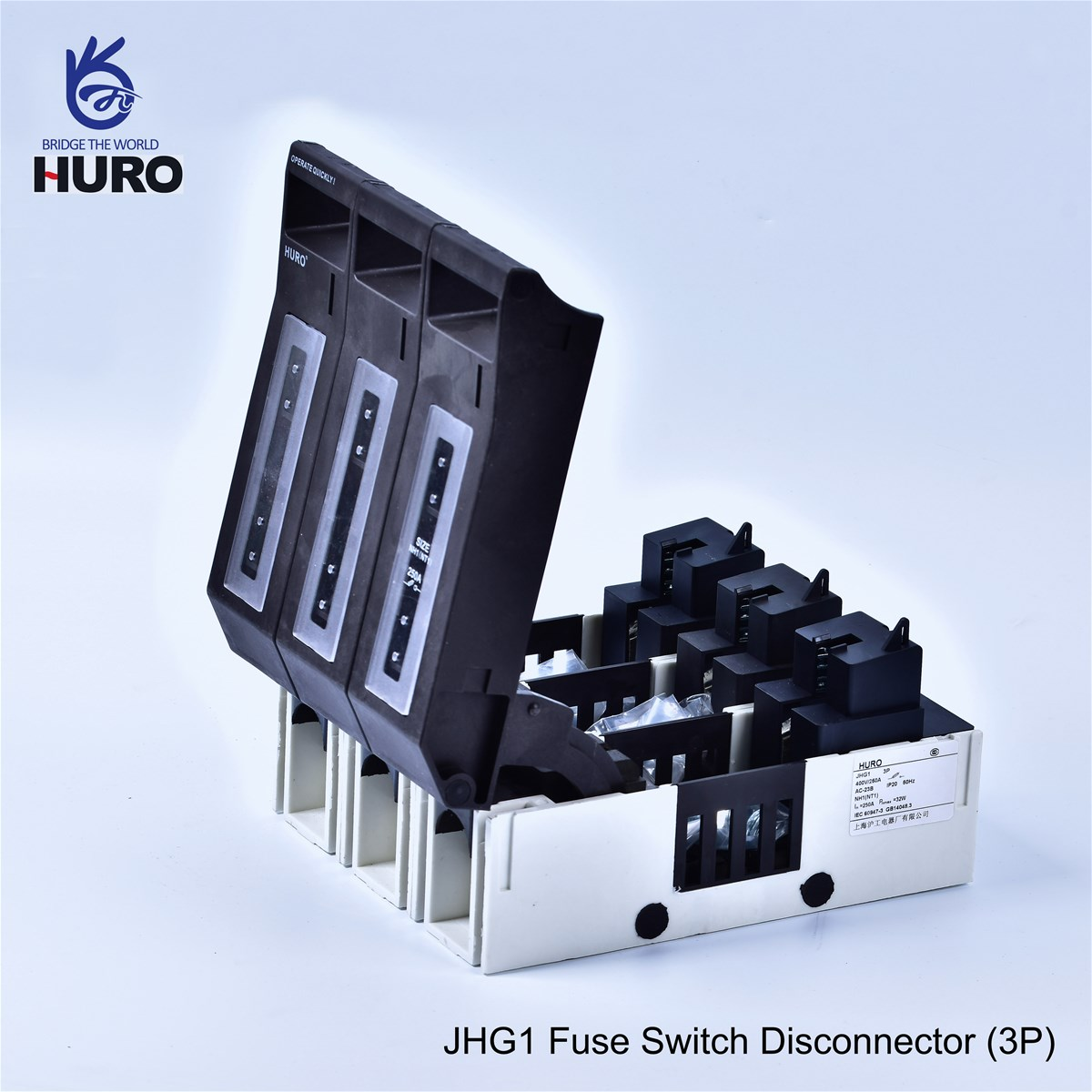 Jhg 1 Size Fuse Switch Disconnector1 Pole 2 Poles 3 Between Disconnectors Load Switches And Circuit