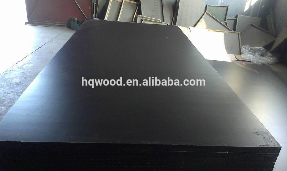 4x8 Black Film Poplar Core Wbp Glue Film Faced Plywood for
