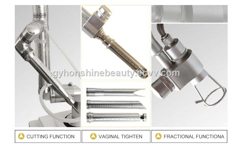 new designed RF tube scars removal facial renewing fractional CO2 laser