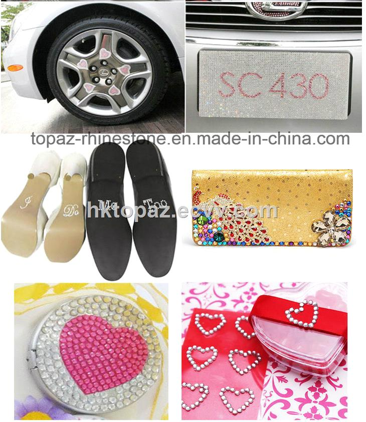 Creative I Do Me Too Wedding Rhinestone Wall Sticker Decoration for Shoes TS513I Do Me Too