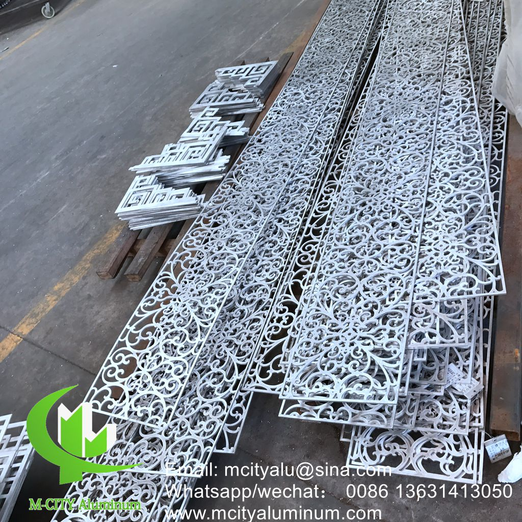 Aluminum Cladding Panel for Facade with Decorative