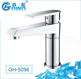 Good Quality Factory Make Single Handle Chrome Finish Bathroom Basin Faucet