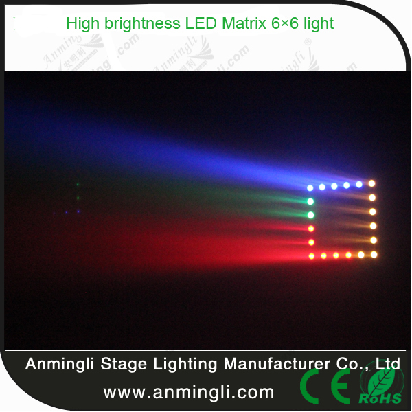 6*6 Flexible LED Matrix Panels LED Panel for Bar from China