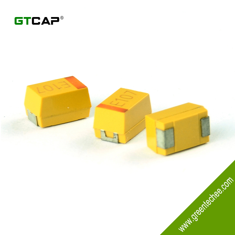 Conductive Polymer Electrode SMD, Chip Tantalum Capacitor