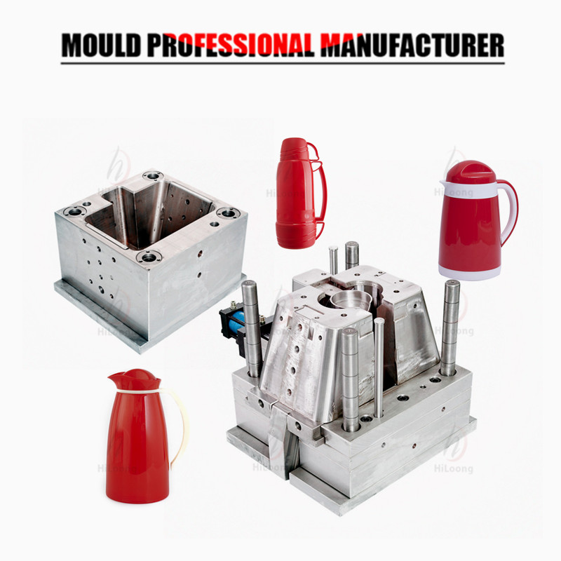 Plastic Injection Moulding Vacuum Flask Mould Injection Moulding