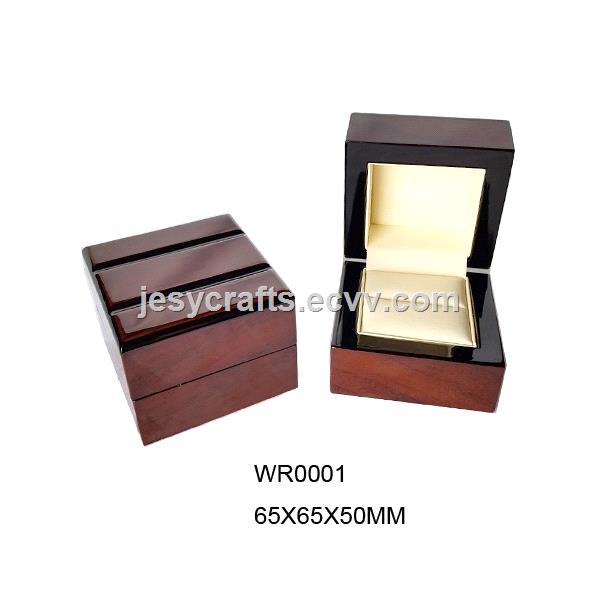 Glossy Varnish Wooden Jewelry Boxes