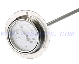 BBQ Grill Meat Stainless Steel Thermometer