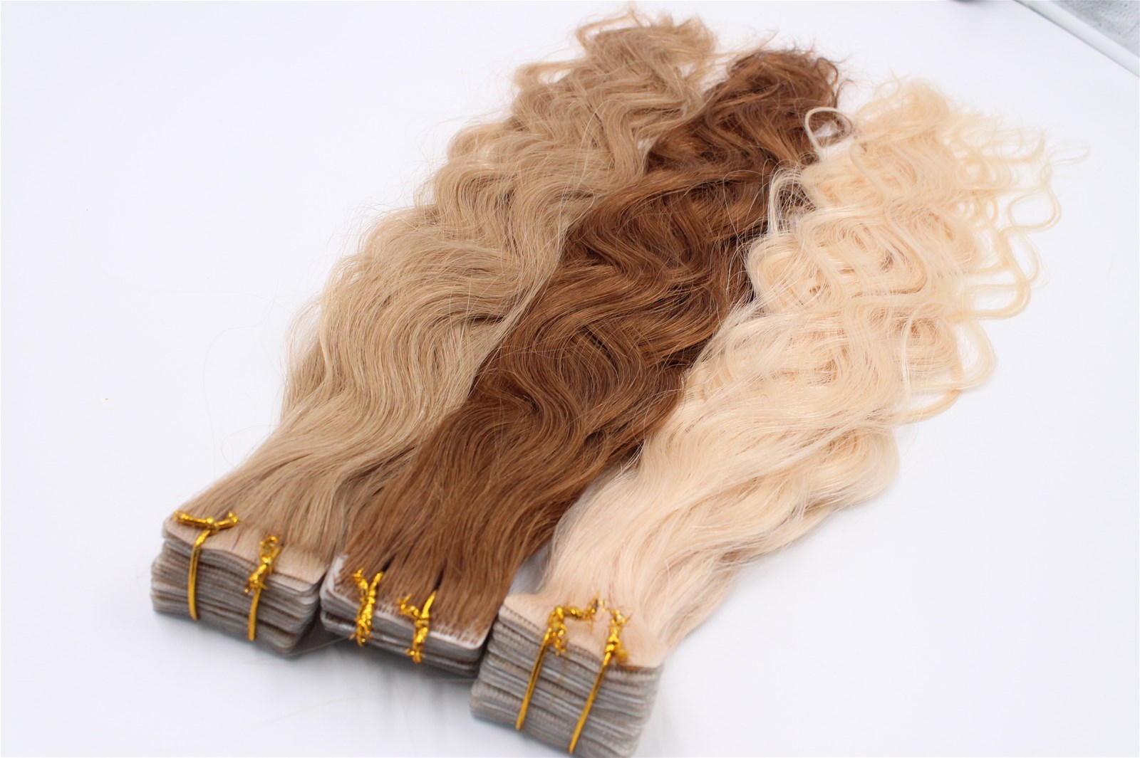 Hair Extensions Hand Tied Human Hair Skin Wefts Purchasing Souring
