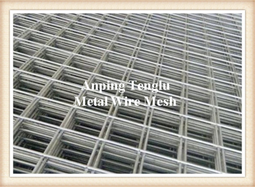 Welded Wire Mesh Reinforcement 6.0m x 2.4m For Concrete