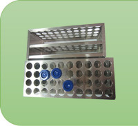 BMT SCIENTIFIC Stainless Steel Test-Tube Rack