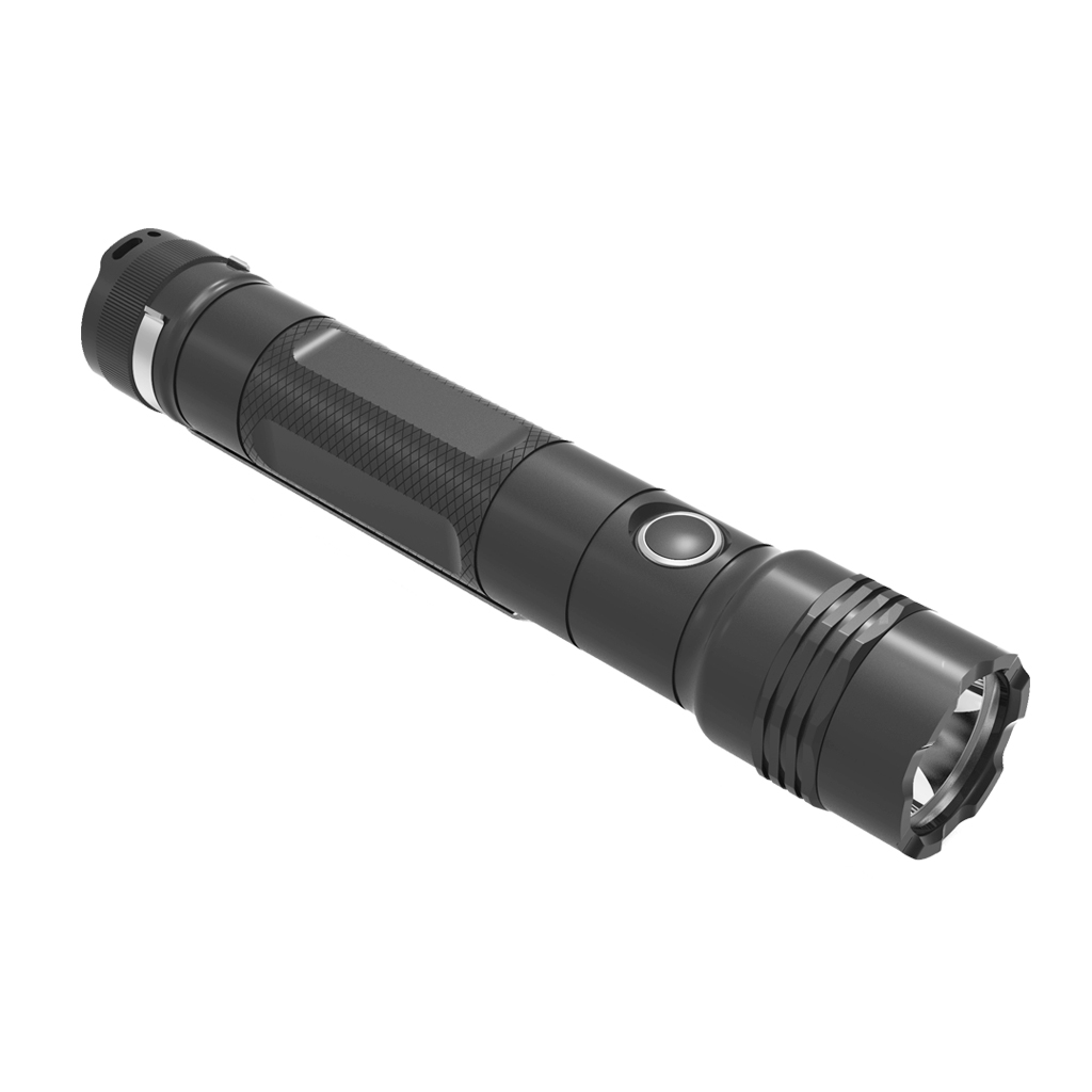 SKYBEST 3 Modes 500 Lumen IP68 Waterproof Rechargeable Handheld Flashlight FL3