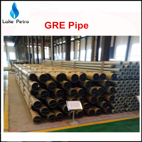 API 15HR High Pressure Fiberglass Pipe GRE Pipe from China
