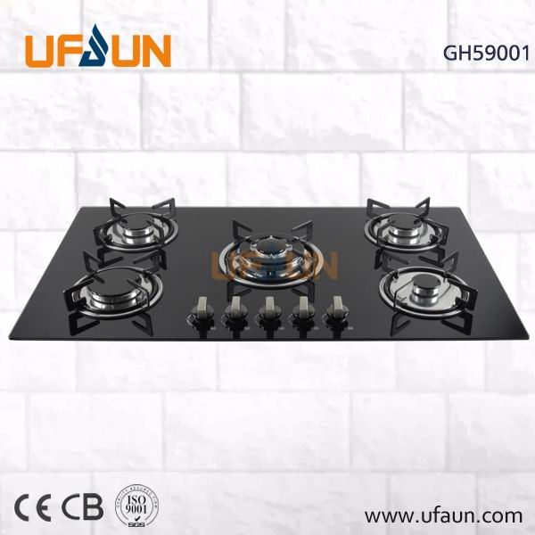 Built-in Gas Hob Panel for Kitchen Appliance