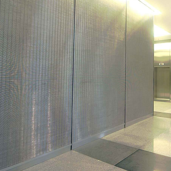 stainless steel decorative wire mesh architecture mesh wall cladding mesh