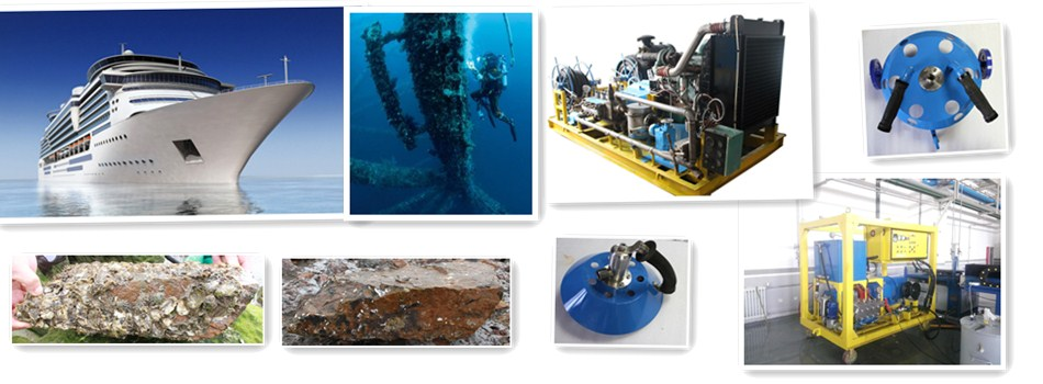 Ship/Boat Hull Cleaning Equipment Underwater (Cavitation Technology ...