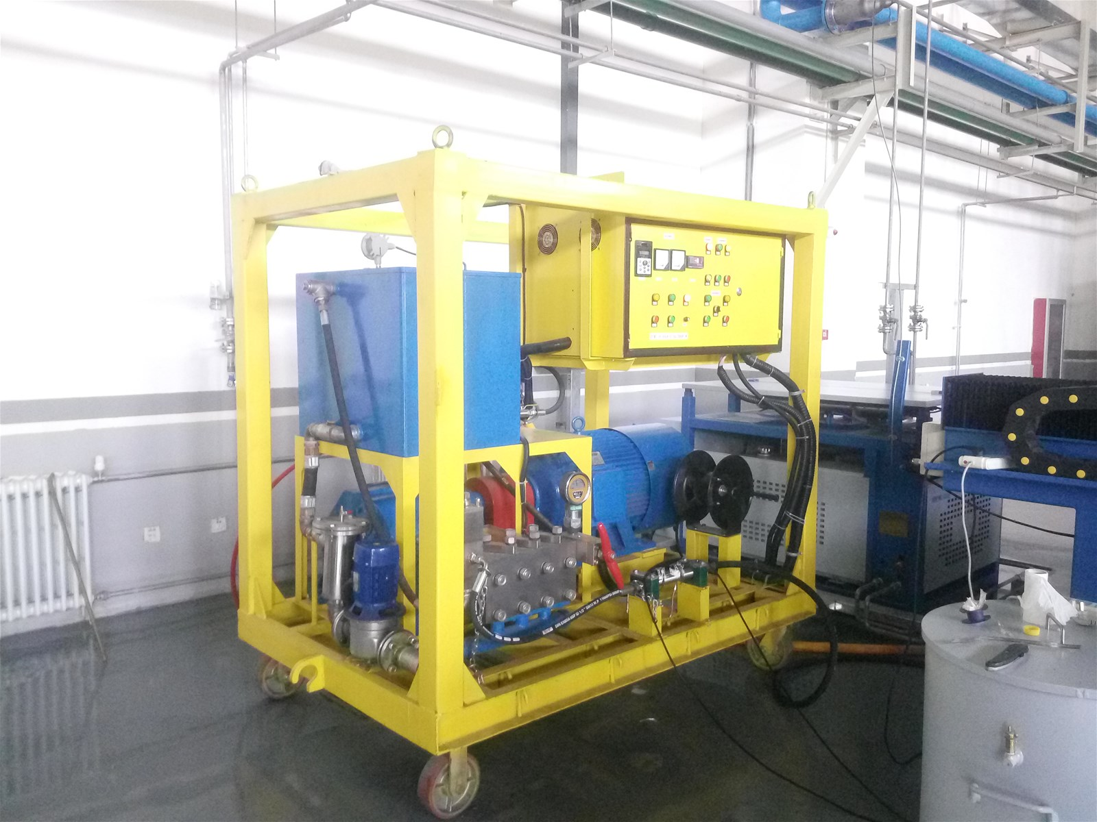 Shipboat Hull cleaning equipment underwater Cavitation technology Small cavitation cleaning unit Medium