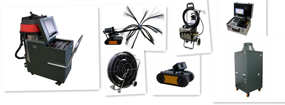 Air Duct Cleaning Equipment Flexible Shaft Machine Active Cleaning ...