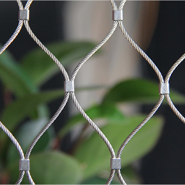 Stainless Steel Flexible Wire Rope Mesh Netting