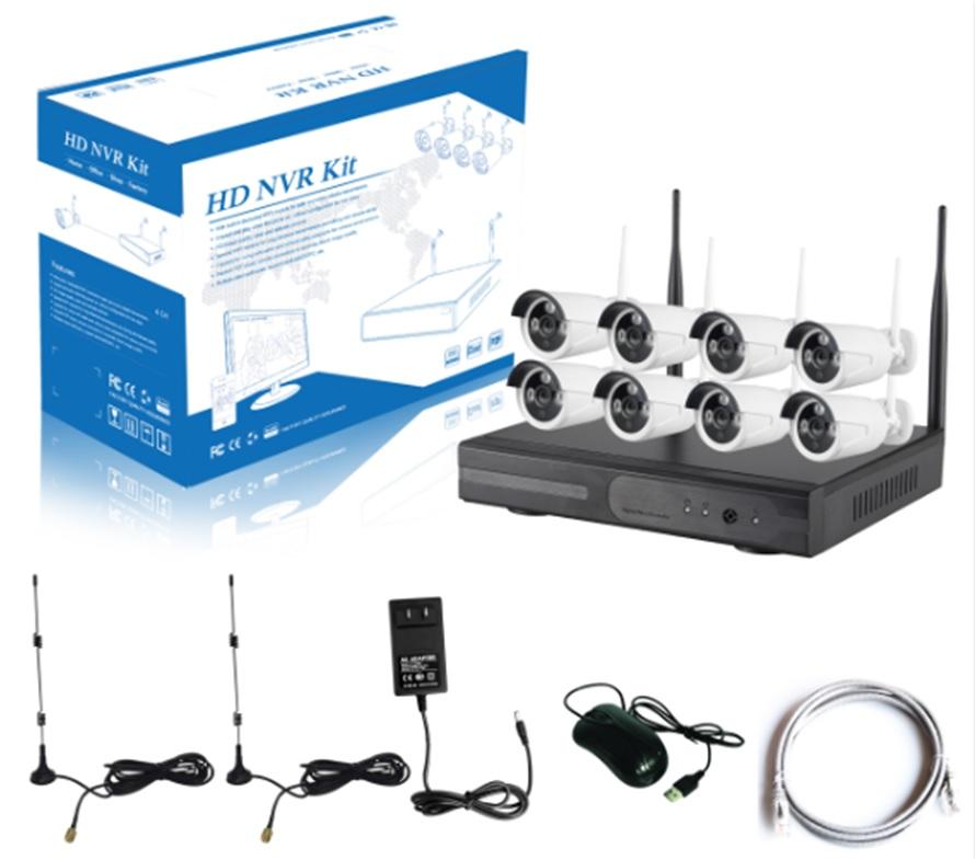 DIGICAM CCTV 8CH Wireless NVR KIT 1 0MP 1 3MP 2 0MP WiFi IP Camera
