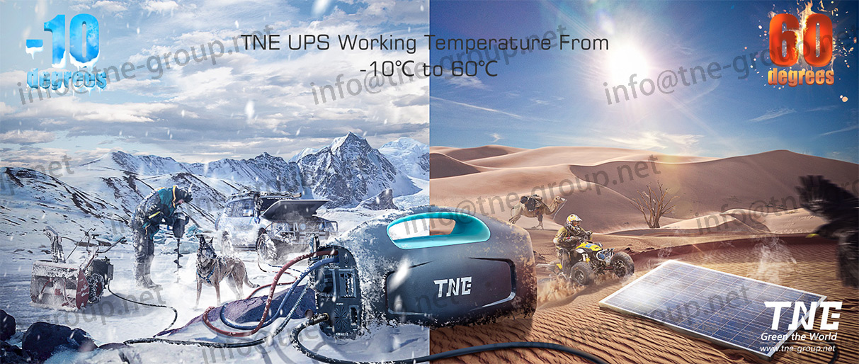 TNE Solar Online Storage Batteries Portable Generator Power Bank UPS System for Traveling