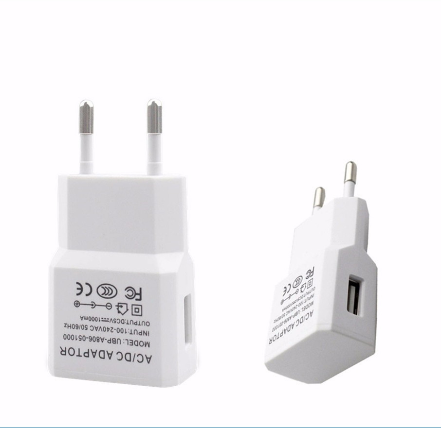 5 Volta 1amp USB Wall Charger Adapter for Cellphone