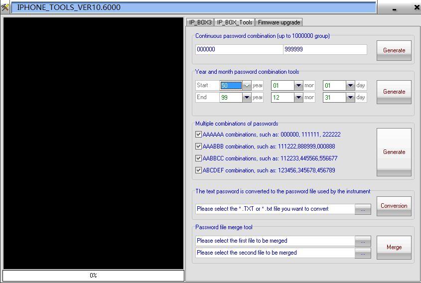 IP-Box V3 Phone Passcode Crack Tool Phone Screen Password