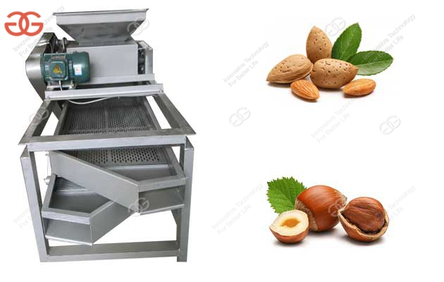 Commercial Almond Shell Cracking Machine for Sale|Almond Shelling Machine