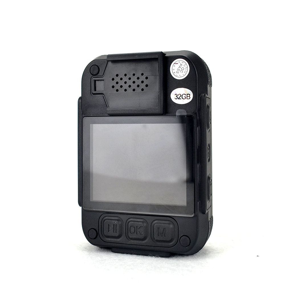 HD 1296p Police Body Cameras, IR Night Vision 10m Worn Camera, Wide Angle 140-Degree Body Cam